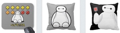 big hero 6 baymax emojicons mousepad lollipop pillow