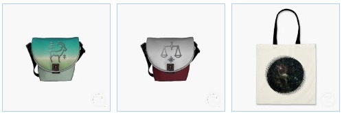 capricorn the goat and libra the scales zodiac rickshaw bags and tote bags