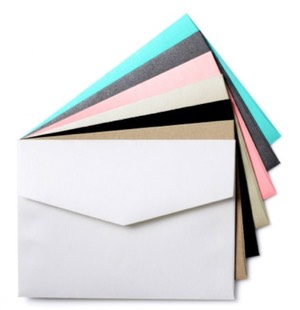 envelopments custom color envelopes