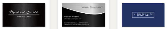 Business Card Templates for Accountants