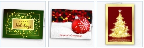 Happy Holidays Business and Corporate Christmas Cards