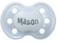 Create Your Own Baby Boy Pacifier in Blue