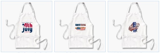 made in the usa apron fourth of july
