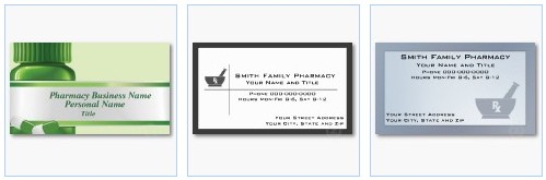 Medical and healthcare business card templates pharmacy business card pharmacist business card colourmoves