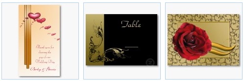 wedding favor gift tag table number card