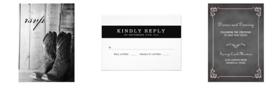 Zazzle Color Selector - Wedding Stationery Essentials for Wedding Planning in Color Black and White, predominantly monochrome