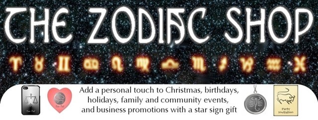 Add the personal touch with a zodiac star sign gift for birthdays, holidays, family and community events. and business promotion and marketing