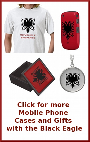 albanian, eagle, albania, flag, street, geek, patriotic, albanian flag, albanian double headed eagle, two headed eagle, birthday, christmas, gifts
